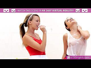 Vrbangers com dillion and pristine scissoring after naked racquetbal