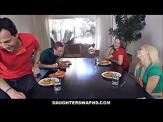 Two dad S swap fuck their daughters