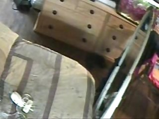 Hidden cam great masturbation of my kinky mom