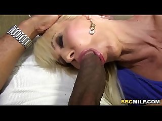 Busty Cougar Erica Lauren Squirts On BBC
