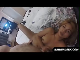 Horny Filipina Gets Fucked And Filled With Cum