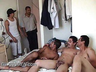 Latinos boys hornys