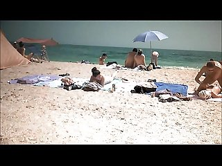Spy glasses beach voyeur June 2016