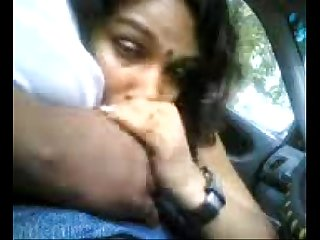 Indian desi blowjob in car 2