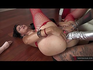 Dana vespoli goes ass to ass with bonnie rotten and squirts