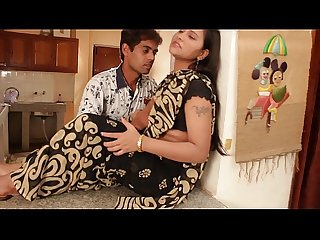 Desi aunty hot enjoyment at kitchen room video