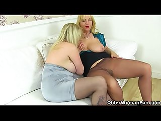 English milf Lucy loves to eat summer S fanny