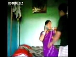 Indian Bangla village Bhabhi sex with devar at bedroom wowmoyback