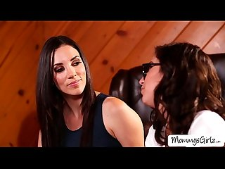 Skanky women jelena and april adores pussy and ass play