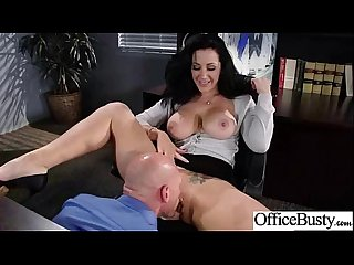 Office Sex tape with naughty lovely bigtits girl movie 17