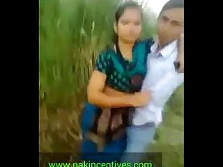 Indian Desi college student kissing outdoor mms mov