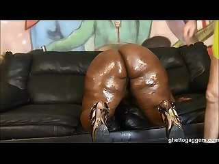Bbw ms Marshae puke fucked gets pounded hard by white guy