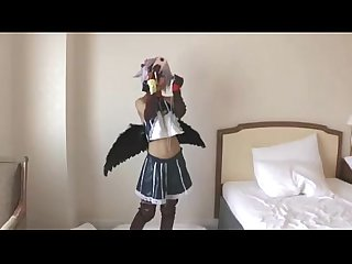 Spankbang Japanese cosplay Fun this Girl is cute to fuck 480p