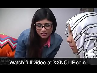 Mia khalifa and her sister sucking brother watch more at xxnclip com