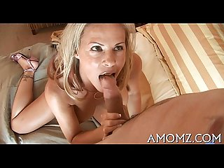 Older goes naughty in a sex game