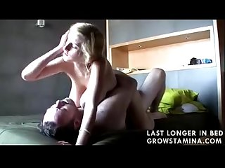 Dad fucks his busty young blond daughter