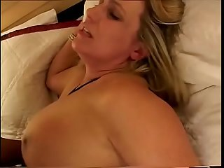 Mature white lady Wanda Lust enjoys riding hard schloeng of her black neighbour burnout
