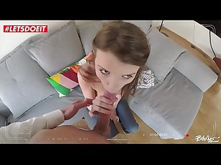 LETSDOEIT - Horny Petite Teen Olga Petrova Abused By Massive Cock