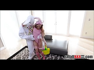 Easter bunny fucks hot teen girl