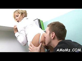 Agile mamma likes doggystyle fuck