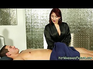 Cum mouth latina masseuse