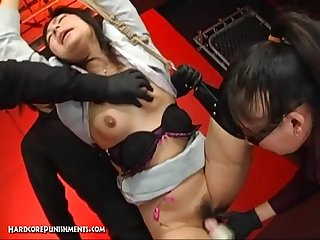 Crazy japanese device suspension bondage sex