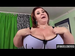 Big boobed bbw lady lynn sucks and fucks