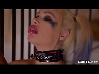 Busty seduction Chessie Kay ribs her wet juicy clit all over baseball bat