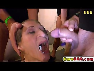 Devious European Slut Is Into Cock Sucking And Warm Piss