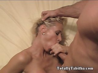 Totally tabitha bj tittyfuck blowjob and facial