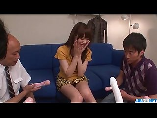 Amateur gangbang with toys for moe sakura more at javhd net