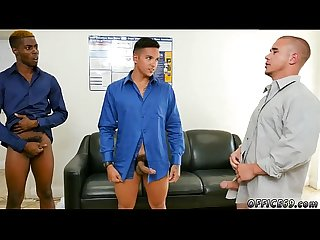 Negro men in gay porn first time The crew that works together, porks