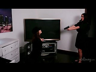 Panty thief gets a lesson jenna sativa angela white