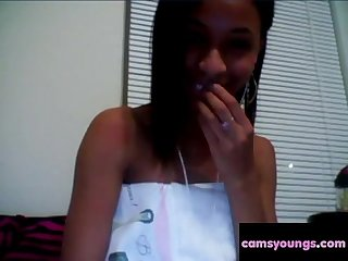 Black Teen Bates on Cam, Free Amateur Porn aa: