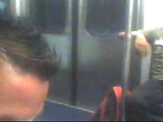 Mi vergota en el metro linea naranja