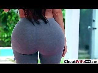 Superb Wife (lela star) Cheats On Camera IN Hard Style Action movie-18