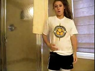 Hot sporty teen strips sleezycams com