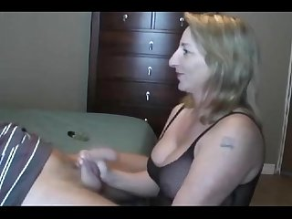Hot polish milf sucking