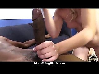 Your mother goes for a big black cock 8