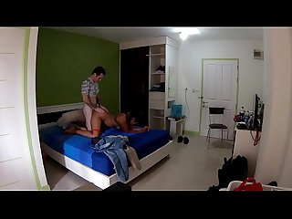 Thailand girl getting fucked in bangkok riding my cock hard