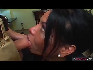 Busty mature tranny flelucia ass fucking with nasty dude