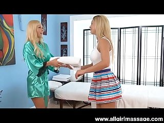 Aaliyah love and cherie deville lesbian massage