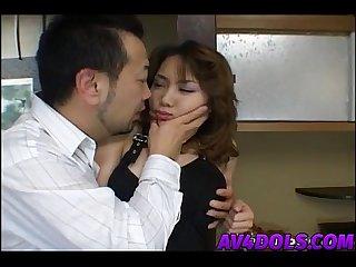 Ayu mayumi gets fingers in sex