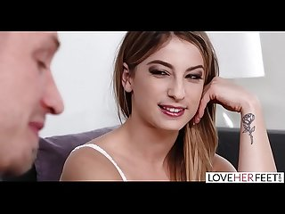 LoveHerFeet - Orgasmic Foot Sex With My Girlfriend's Hot Daughter