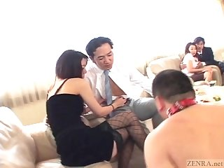 Subtitled japanese garden of earthly delights sex party