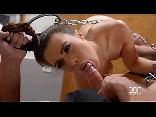 French beauty tiffany doll takes it in the ass by her master