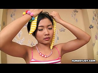 Barely legal teen ladyboy