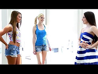 Lola foxx aubrey star charlotte stokely and abby cross at webyoung