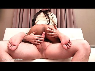 Ladyboy june fat cock riding