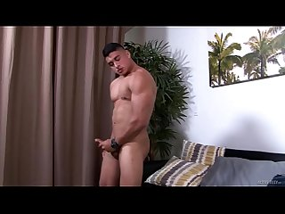 ActiveDuty - Muscle Hunk Edges His Hard Thick Cock